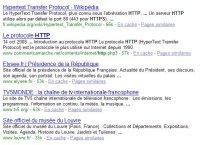 Recherche Google http