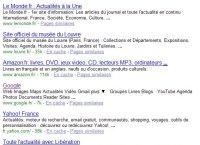Recherche Google http www