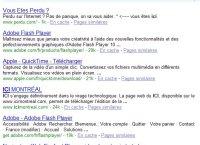 Recherche Google ici