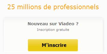 Exemple call-to-action Viadeo.com
