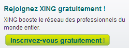 Exemple call-to-action Xing.com
