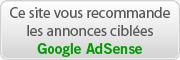 Annonce parrainage Google AdSense