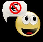 Personne qui parle pas d'argent