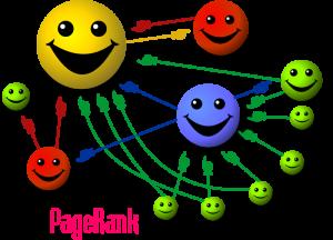 explication calcul PageRank