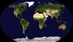 projection du monde