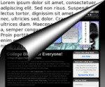page web html et texte
