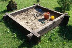 bac à sable (sandpit)