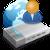 ic�ne modem internet et utilisateur