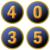 icône de numéro aléatoire